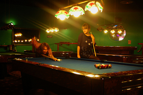 The Basics Of Putting Up a cool Sports Bar - pool table