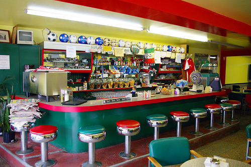 The Basics Of Putting Up a cool Sports Bar - soccer