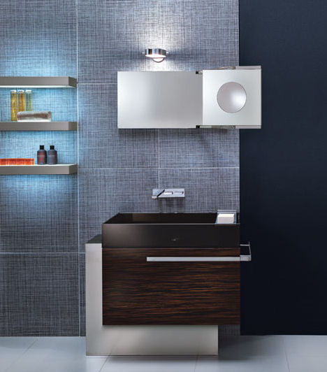 Modernized bar bathroom designs - trendy